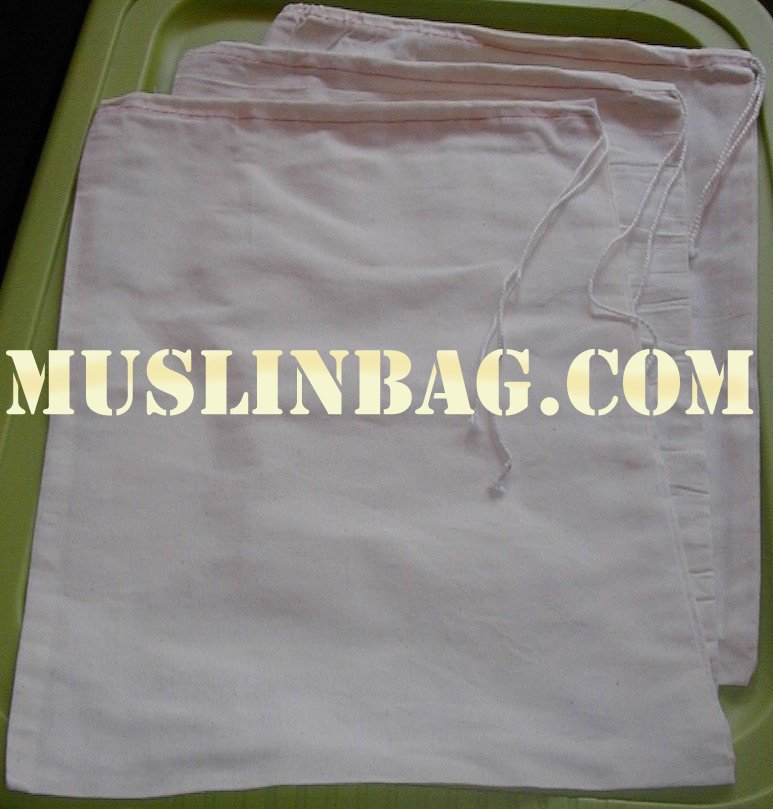 12x16 cotton fabric bag
