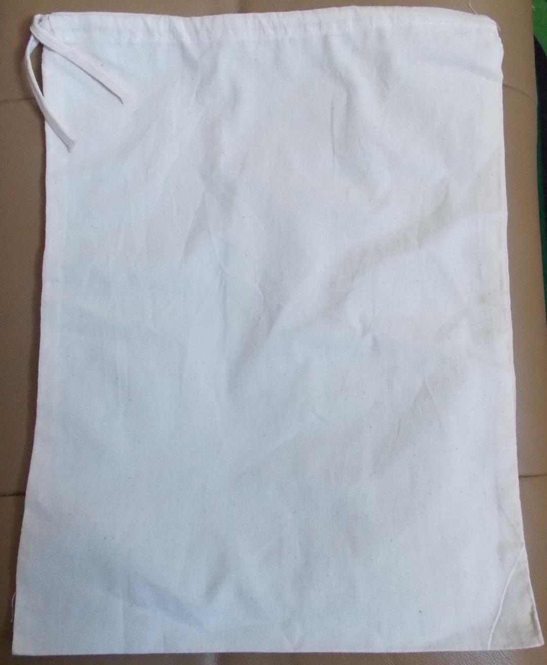 100% Cotton Muslin Drawstring Bags Made in USA - Worldwide ...