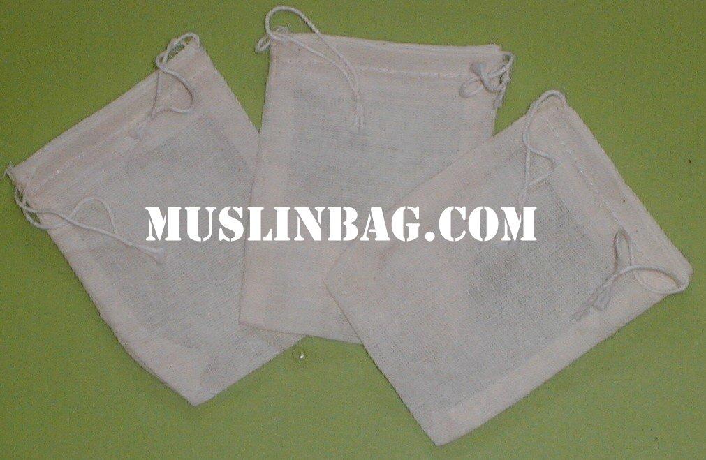 2 75x4 Muslin Bag
